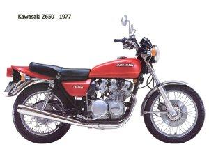 Kawasaki Z650 1977