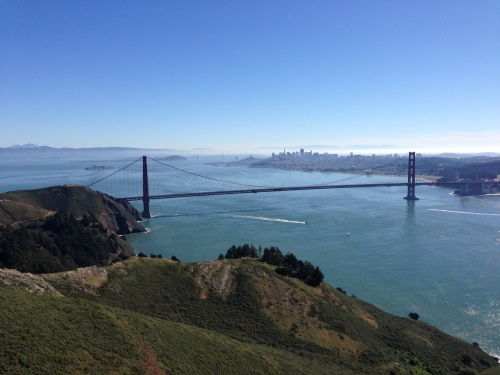 Vista point / Conzelman Road